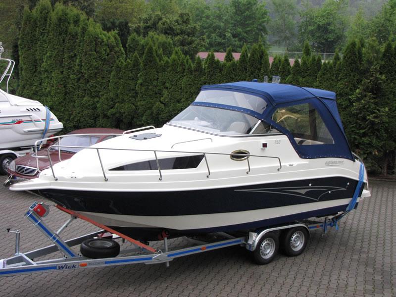 Verdeck Aqualine 750 Persenning  05