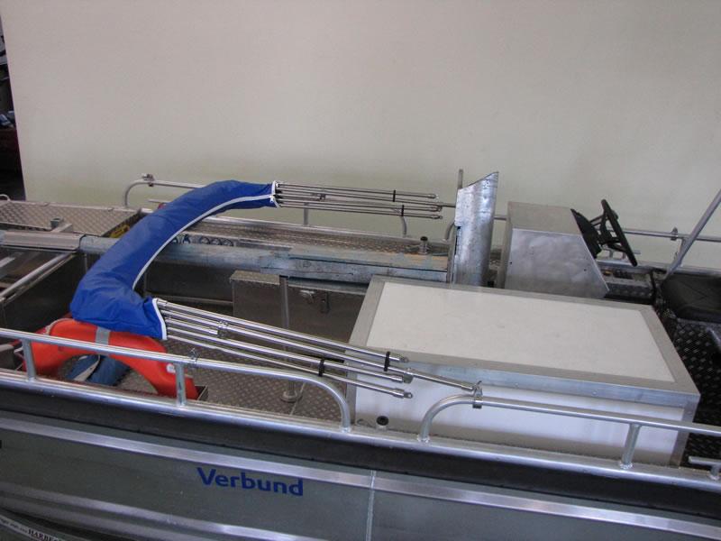Verdeck Barro RTB 500 Aluminiumboot Bootsverdeck Persenning 20