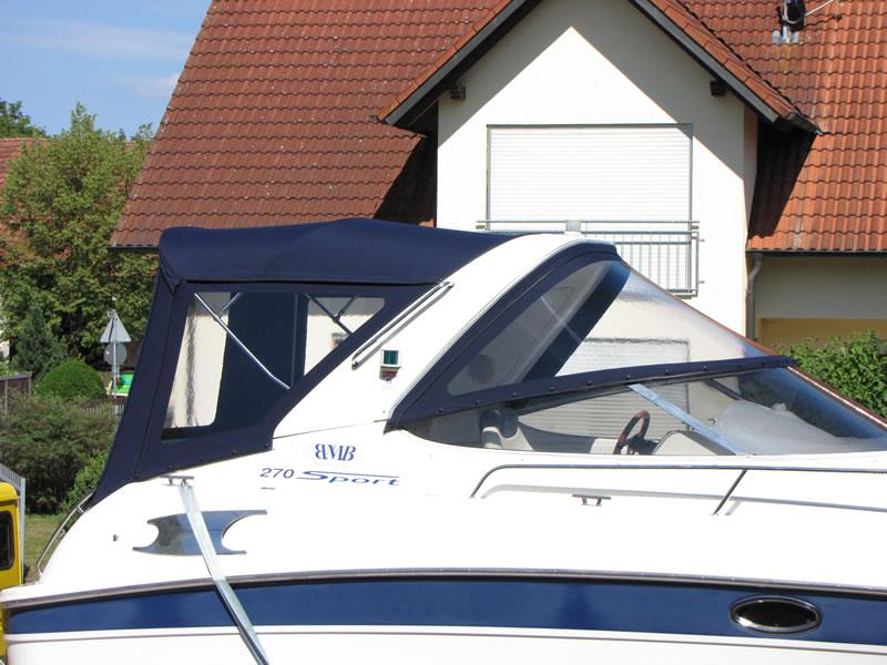 Verdeck Bavaria 270 Sport Bootsverdeck Persenning 04