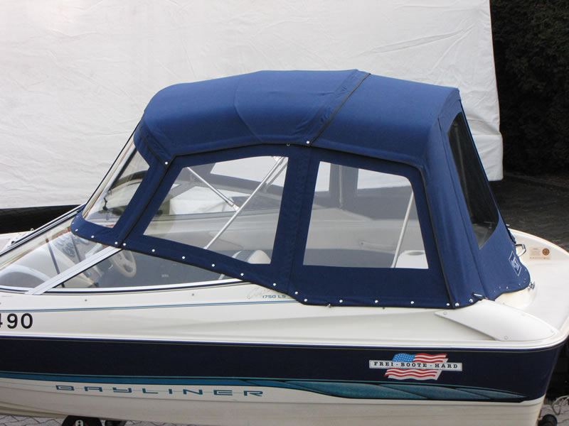 Verdeck Bayliner 1750 LS Persenning 02