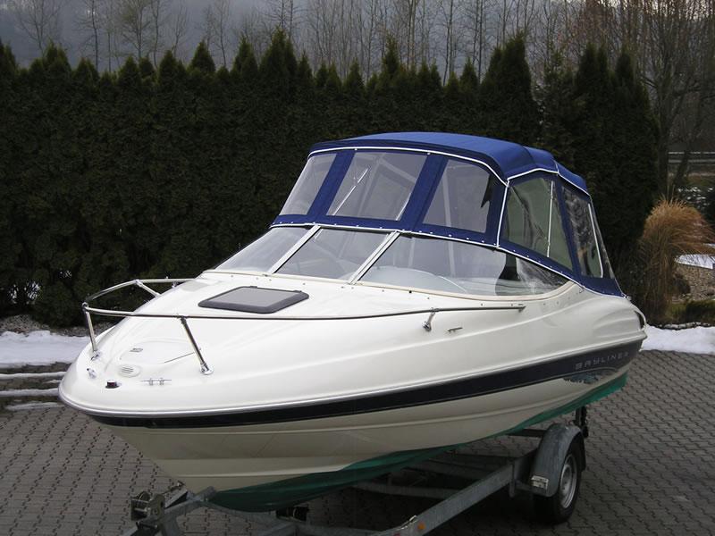 Verdeck Bayliner 2052 LS Persenning 04