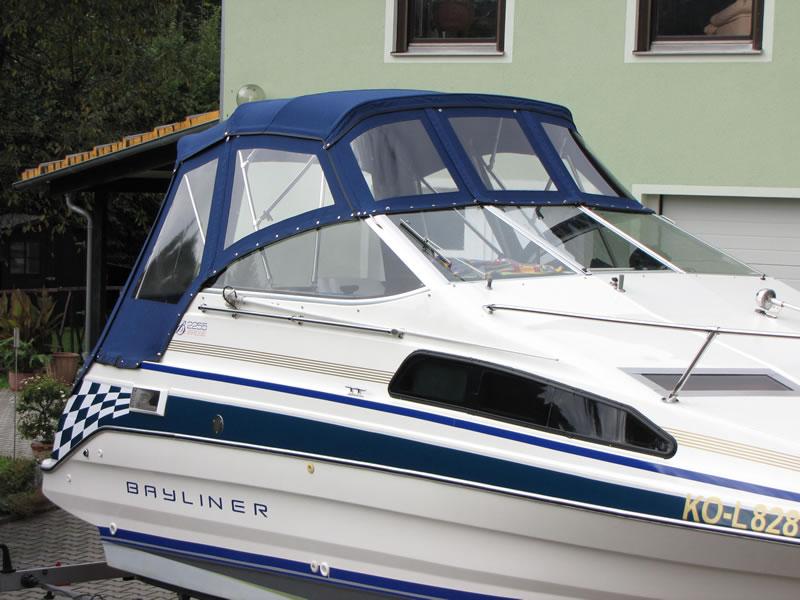 Verdeck Bayliner 2255 Persenning 12