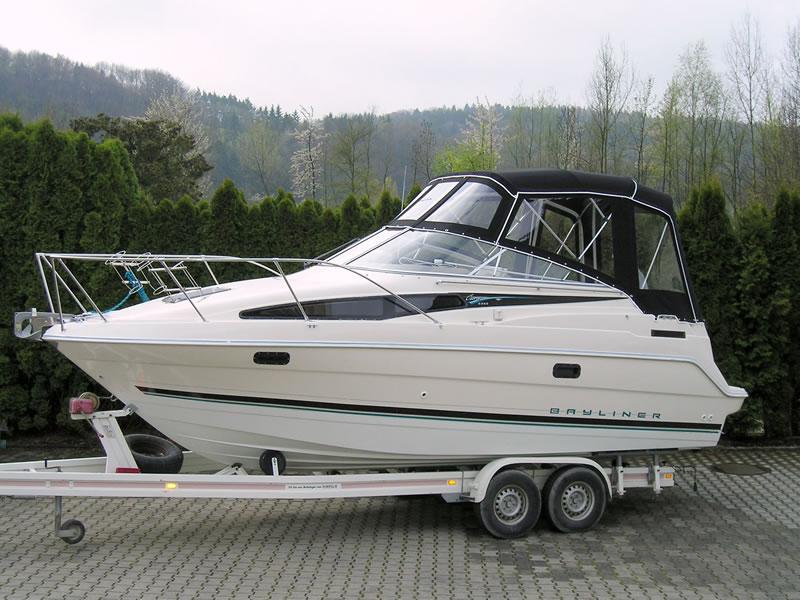Verdeck Bayliner 2355 Persenning 01