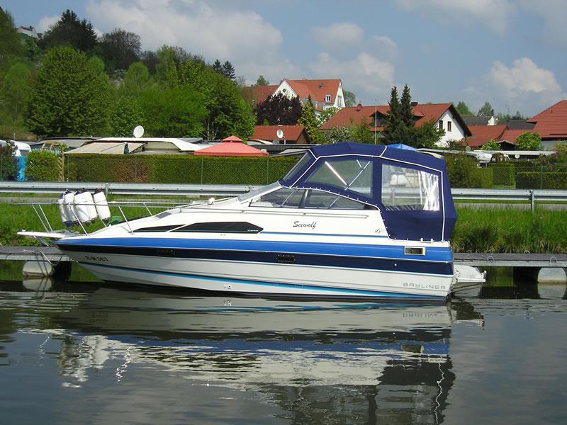 Verdeck Bayliner 2455 Persenning 06