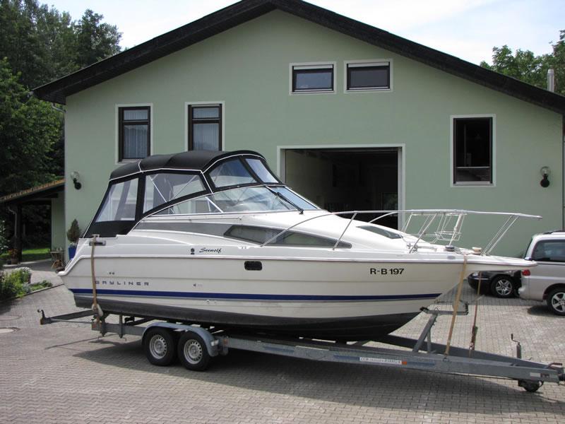 Verdeck Bayliner 2655 Persenning 10