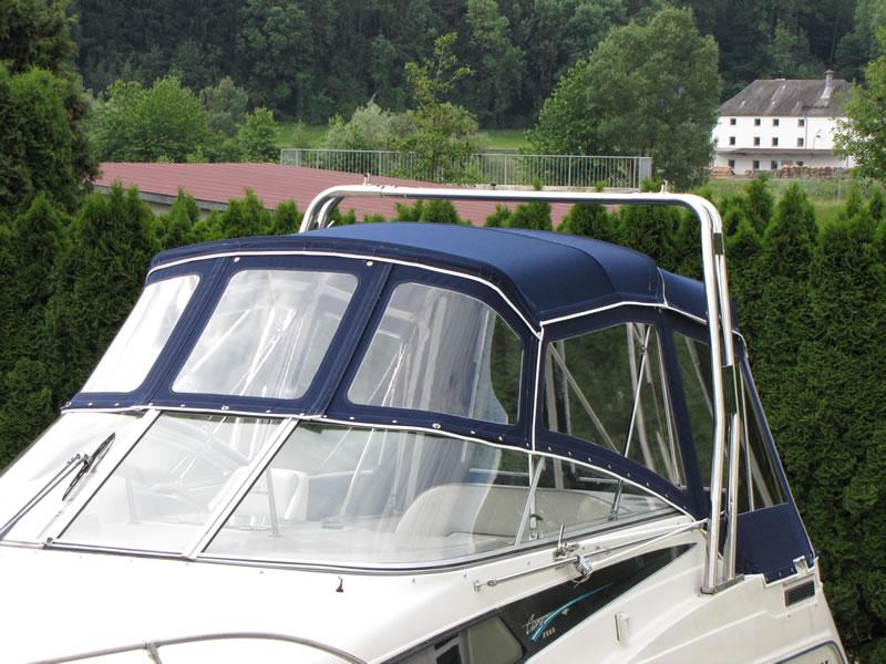 Verdeck Bayliner 2655 Bootsverdeck Persenning  07