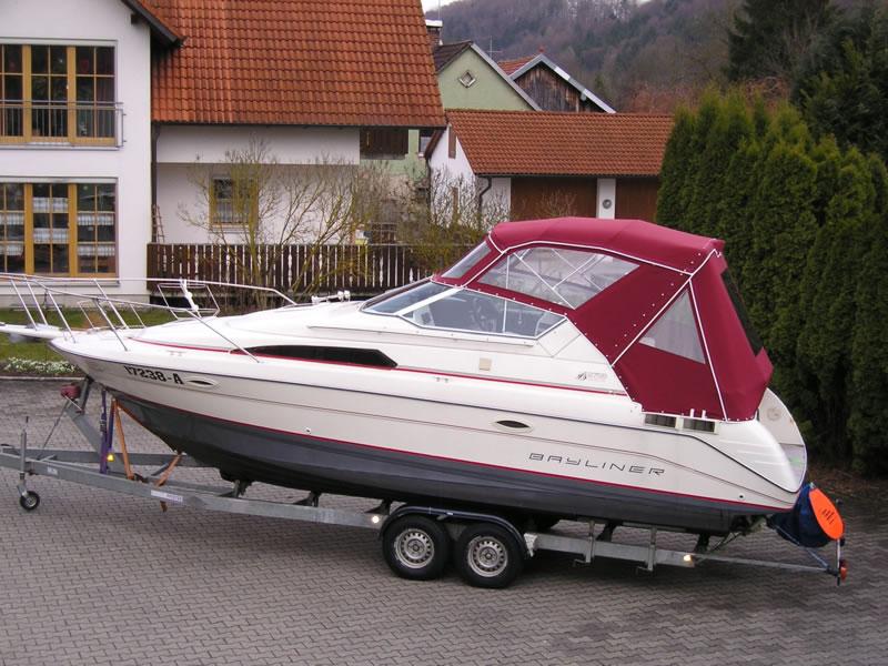 Bootsverdeck Bayliner 2755 Verdeck 02