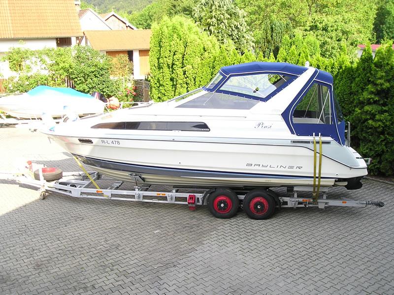 Verdeck Bayliner 2855 Persenning 02