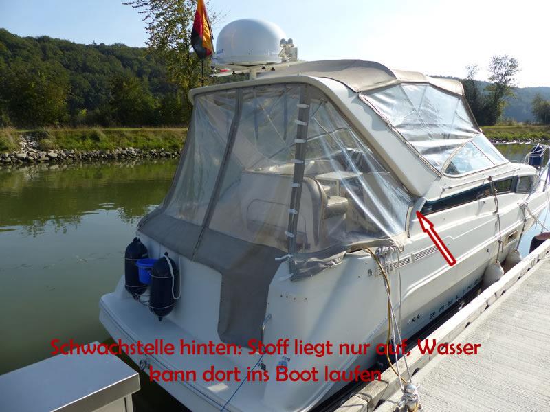 Verdeck Bayliner 2855 Bootsverdeck 34