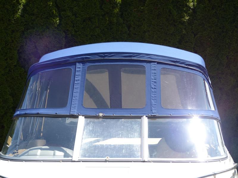 Verdeck Bayliner 652 Cuddy Bootsverdeck Persenning 11