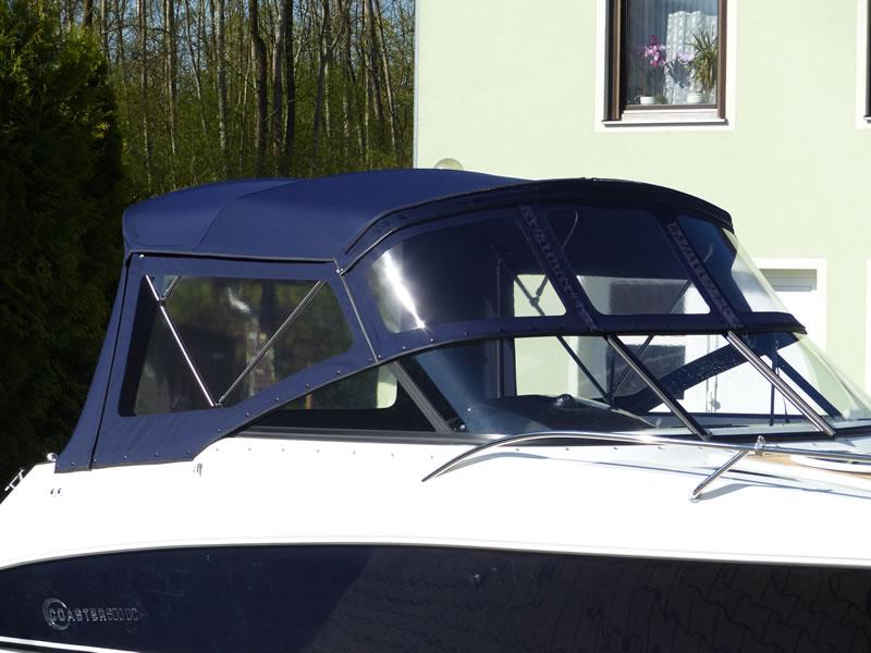 Verdeck Coaster 600 DC Scandica 20 Oceanmaster 600 Cabin Persenning 09