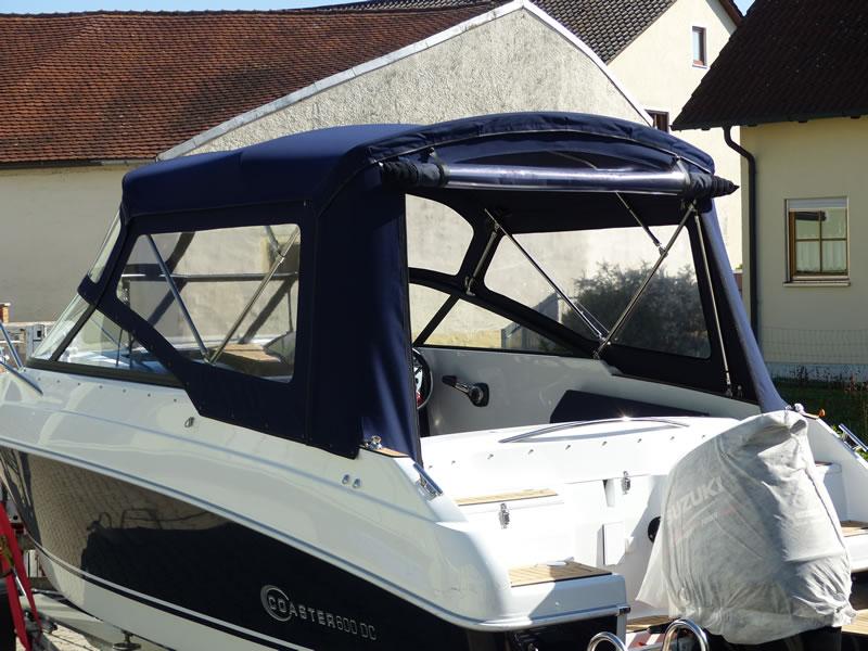 Verdeck Coaster 600 DC Scandica 20 Oceanmaster 600 Cabin Persenning 13