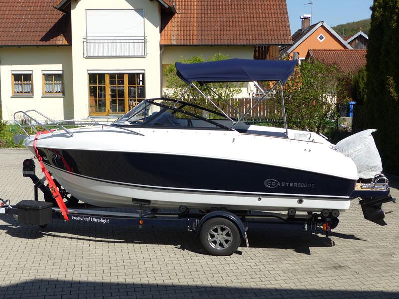 Verdeck Coaster 600 DC Scandica 20 Oceanmaster 600 Cabin Persenning 15