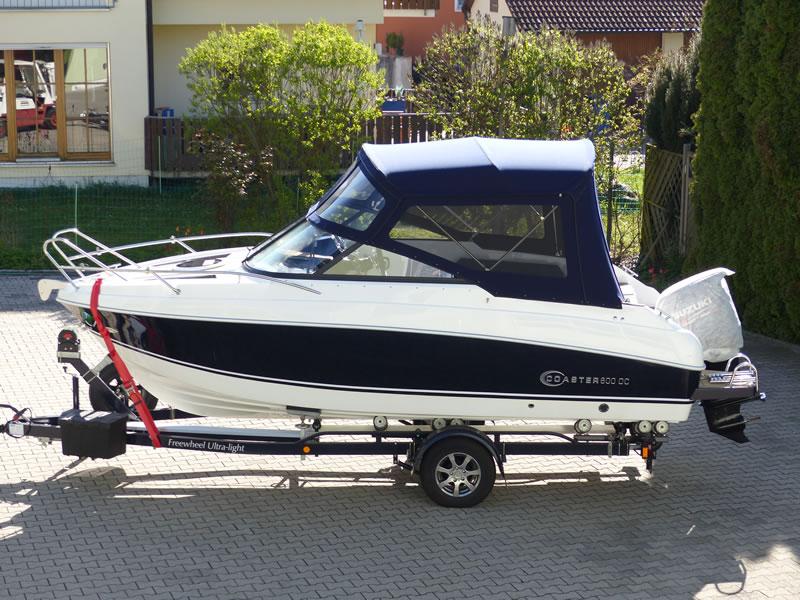 Verdeck Coaster 600 DC Scandica 20 Oceanmaster 600 Cabin Persenning 22