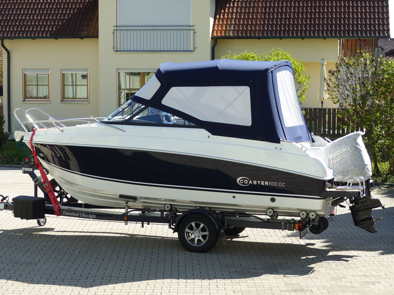 Verdeck Coaster 600 DC Scandica 20 Oceanmaster 600 Cabin Persenning 28