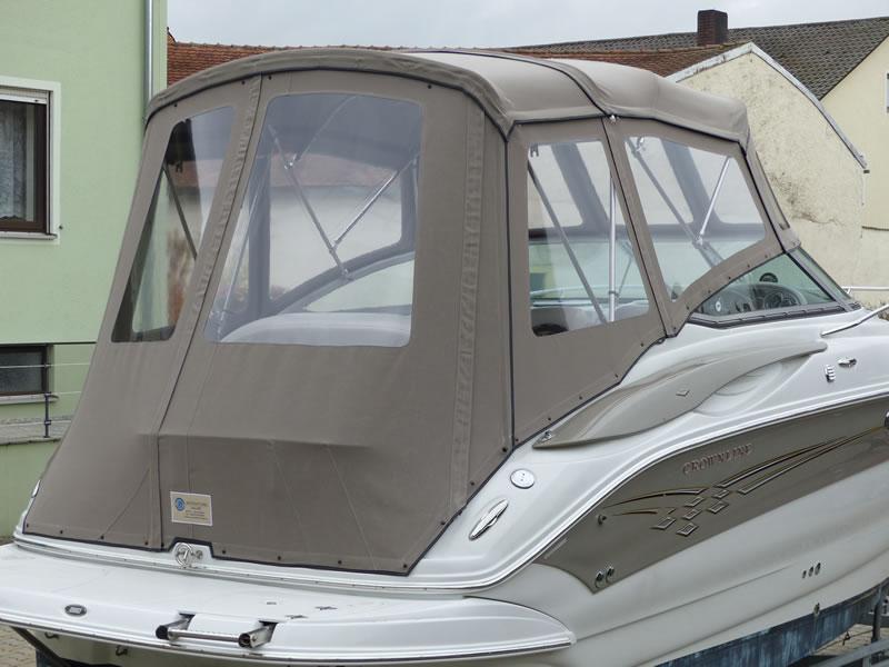 Camperverdeck Crownline 250 CR Sunbrella Plus Taupe 18