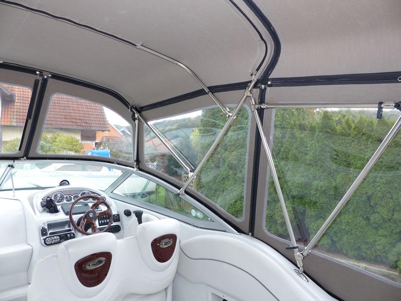 Camperverdeck Crownline 250 CR Sunbrella Plus Taupe 21