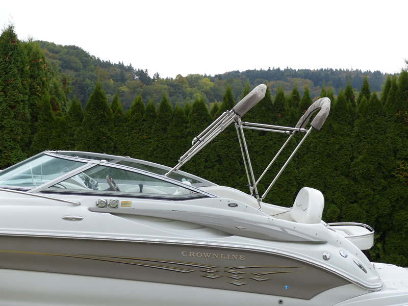 Camperverdeck Crownline 250 CR Sunbrella Plus Taupe 24