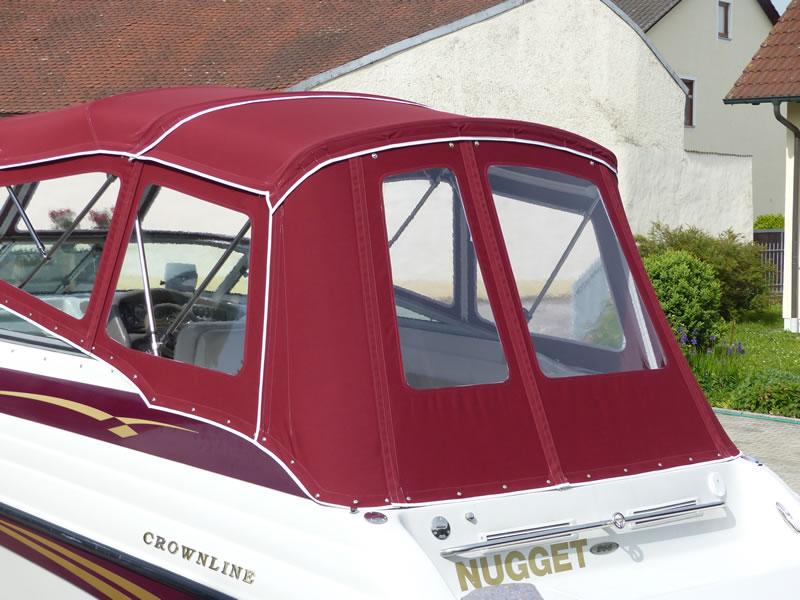 Verdeck Crownline 266 CCR Bootsverdeck Persenning 15