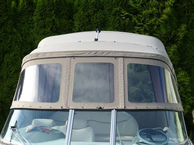 Verdeck Crownline 270 CR Bootsverdeck Persenning 09