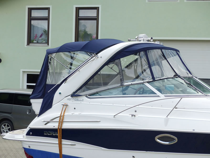 Altes Originalverdeck Doral 250SE 08