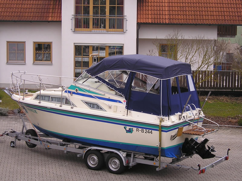 Verdeck Fairline Holiday 24 Persenning  01