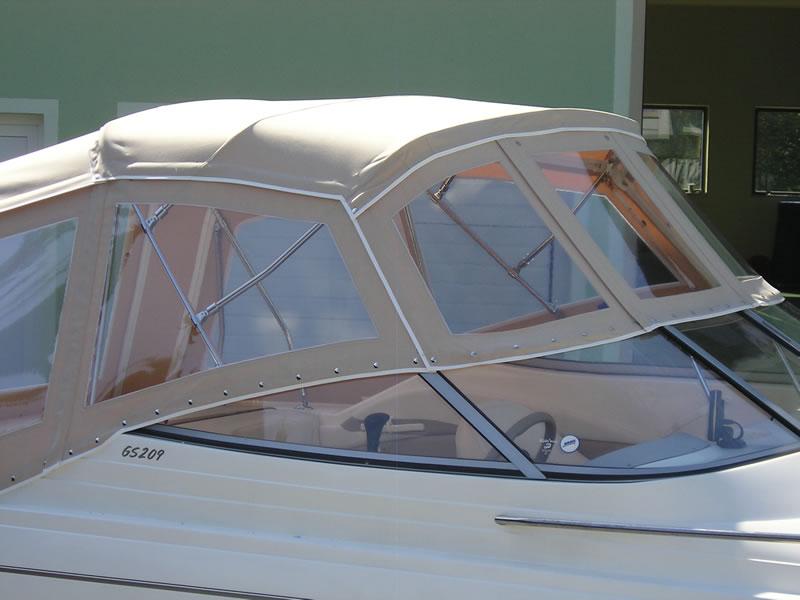 Verdeck Glastron GS 209 Persenning 09
