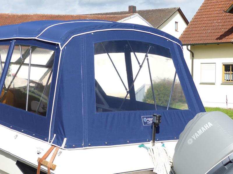 Verdeck Hohmann H9 Bootsverdeck Persenning 13
