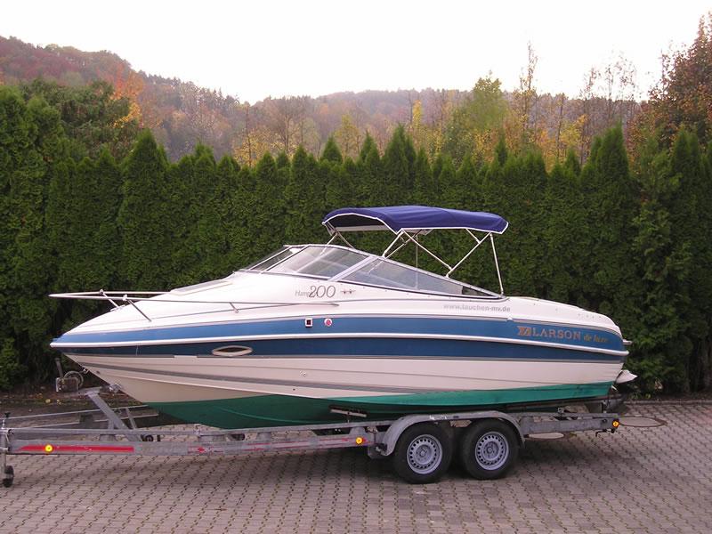 Verdeck Larson Hampton 200 Deluxe Persenning 07