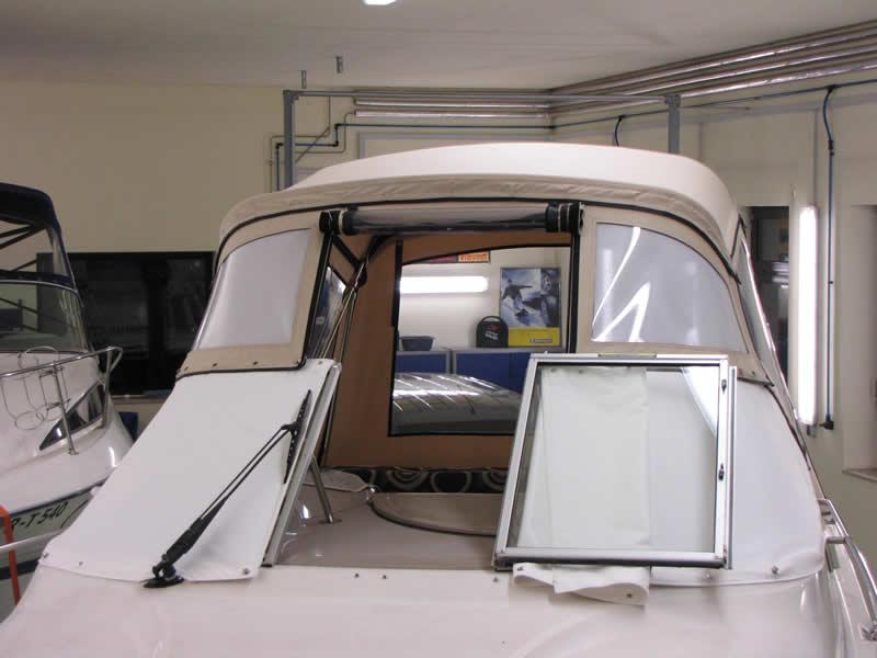 Verdeck Maxum 2400 SCR Persenning 25
