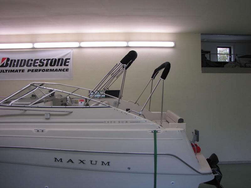 Verdeck Maxum 2400 SCR Persenning  11