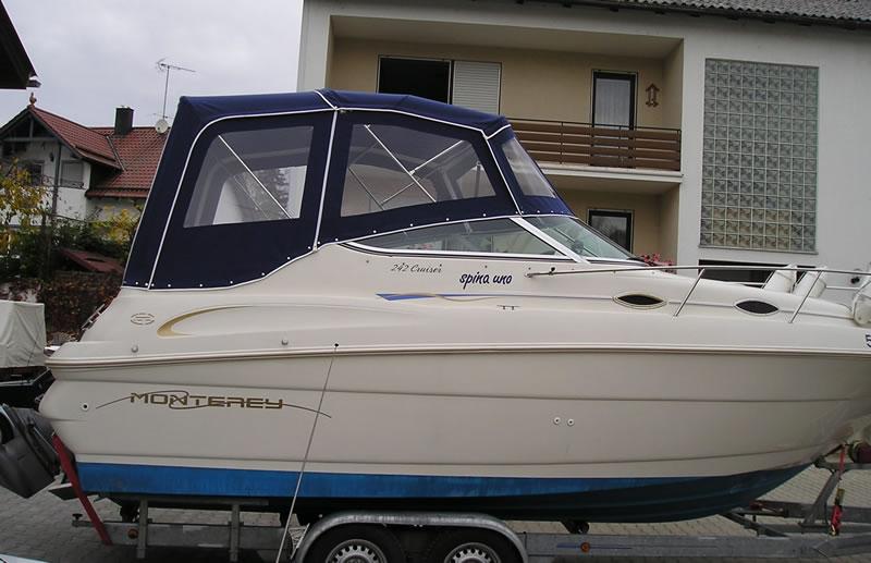 Verdeck Monterey 242 Cruiser Persenning    01