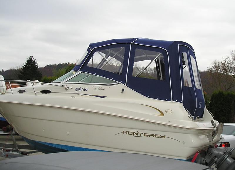 Verdeck Monterey 242 Cruiser Persenning    03
