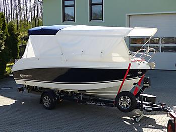 Bimini Coaster 600 DC seitlicher Sonnenschutz Sonnenverdeck 07