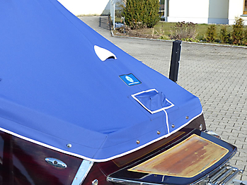 Persenning Boesch 500 Amalfi Bootspersenning 13