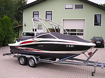 Persenning Sea Ray 185 Sport Bootspersenning 06