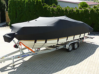 Persenning Sea Ray 250 Sun Sport Ganzpersenning 04