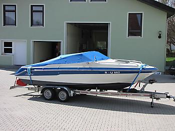 Persenning Sea Ray Seville 20 Bootspersenning  05