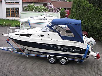 Verdeck Aqualine 750 Persenning  02