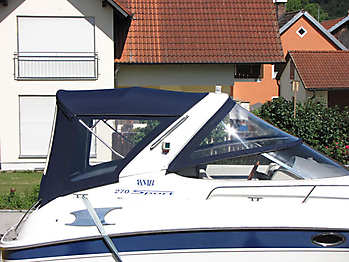 Verdeck Bavaria 270 Sport Bootsverdeck Persenning 02