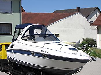 Verdeck Bavaria 270 Sport Bootsverdeck Persenning 06