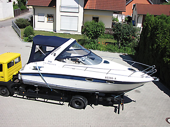 Verdeck Bavaria 270 Sport Bootsverdeck Persenning 08