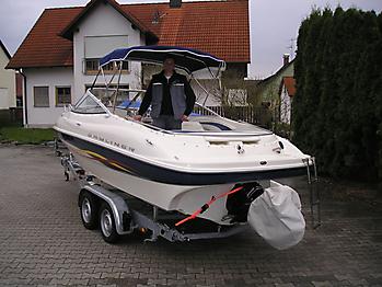 Verdeck Bayliner 192LX Persenning 15