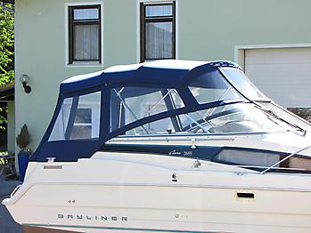 Verdeck Bayliner 2655 Bootsverdeck Persenning 11