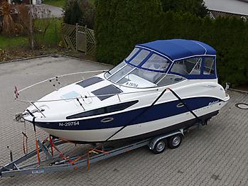 Verdeck Bayliner 265 Persenning 07