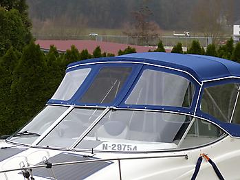 Verdeck Bayliner 265 Persenning 27