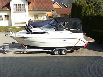 Verdeck Bayliner 265 Originalgestänge 01