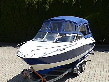 Verdeck Bayliner 652 Cuddy Bootsverdeck Persenning 09