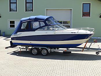 Verdeck Bayliner 652 Cuddy Bootsverdeck Persenning 14
