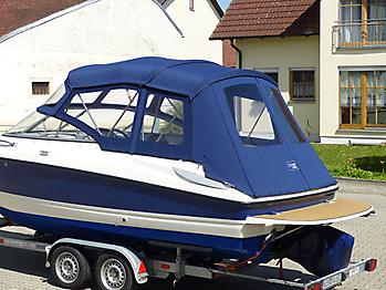 Verdeck Bayliner 652 Cuddy Bootsverdeck Persenning 19